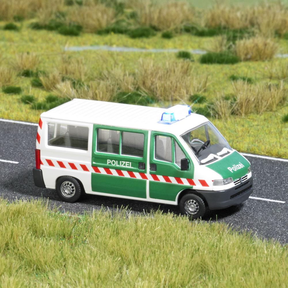 Busch H0 politie & brandweer auto's
