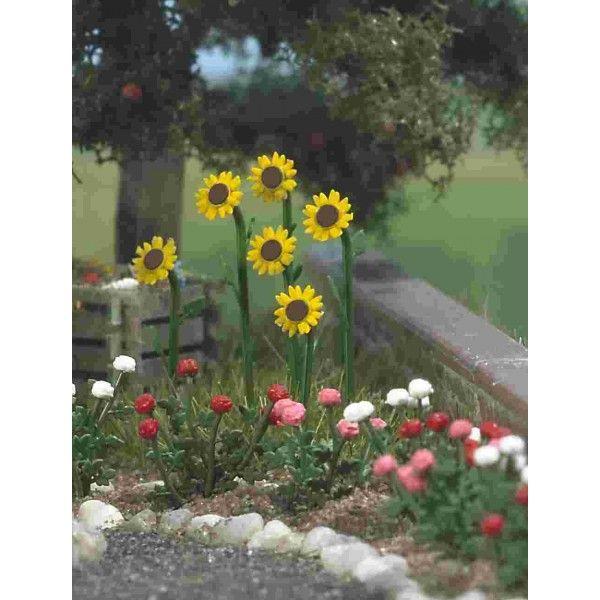 Busch H0 Bloemen & Planten