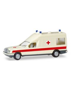 Herpa H0 Mercedes Benz Miesen Ambulance 94153