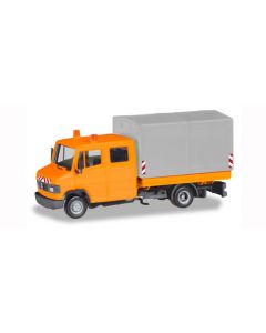 Herpa H0 Mercedes Benz T2 vrachtwagen oranje 94177