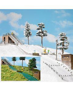 Busch H0 skischans 1180