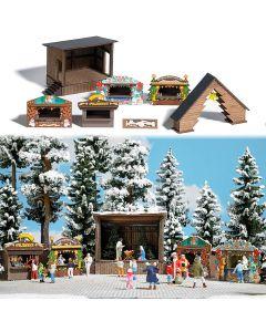 Busch H0 Kerstmarkt 1183