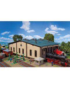 Faller Ronde locomotiefloods met aandrijving 120277