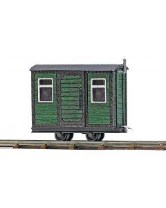 Busch schaftwagen groen 12231
