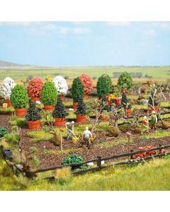 Busch H0 Tuinbouwschool 1276