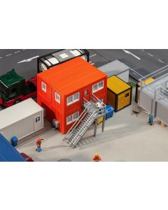 Faller H0 4 Bouwcontainers, oranje 130135
