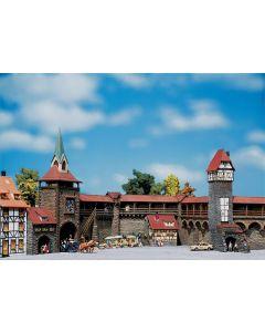 Faller Set muren voor oude stad 130401