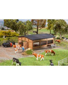 Faller Open stal voor het vee 130547