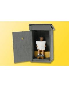 Viessmann Toilethuisje met bewegende deur 1500