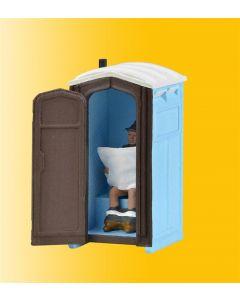 Viessmann Bouwplaats toilet met bewegende deur 1545