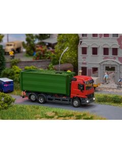 Faller Car System Digital 3.0 vrachtwagen MB Actros L'02 Afrolcontainer (HERPA) 161313