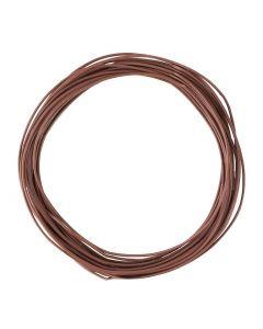 Faller Draad 0,04 mm², bruin, 10 m 163788