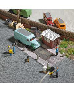 Busch H0 Weegbrug voor vrachtwagens 1649