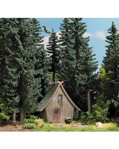Busch H0 Huis met vliegende Heks 1679