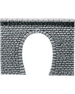 Faller Decorplaat Tunnelingang Profi, Natuursteenblokken 170880