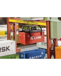 Faller 40' Hi-Cube Container EVERGREEN 180846