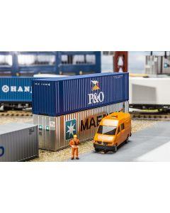 Faller 40' Hi-Cube Container P&O 180843