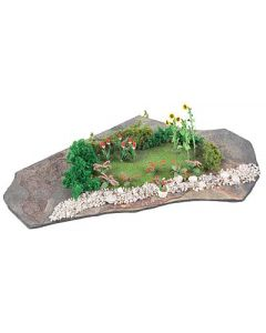 Faller Do-it-yourself Mini-diorama Park tuin 181112