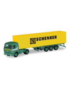 Herpa H0 Mercedes Benz vrachtwagen met aanhanger Schenker 310949