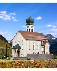 Kibri N Kerk Wassen aan de Gotthardbaan   37032