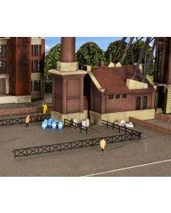 Kibri N Hek voor industrie en spoorwegfaciliteiten    37480