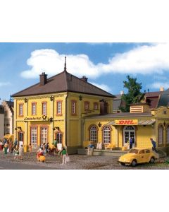 Vollmer H0 DHL Duitse post gebouw 43774