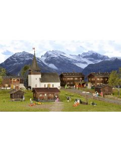 Kibri Set landelijk bergdorp 38010