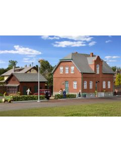 Kibri H0 Regelingshuis Oberhausen met bijgebouwen   38188