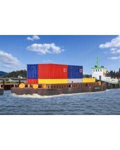 Kibri H0 Haven pontonboot 1 voor goederen of containers 38524