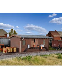 Kibri H0 Kleine goederenloods voor bij het spoor 39306