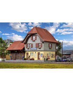 Kibri H0 Station Häusernmoos in Emmendal incl. huisverlichtingsstartset 39490