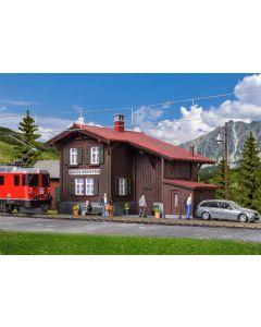 Kibri H0 Station Davos-Monstein incl. huisverlichtingsstartset, functionele bouwset 39493