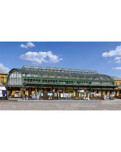 Kibri H0 Perrons met stationshal voor station Bonn 39565