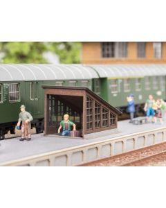 Noch H0 Stationstrap met tunnel 14312