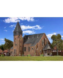 Kibri H0 Kerk aan het Westerbos met muur    39766