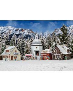 Vollmer winters kerstdorp met verlichting 42413