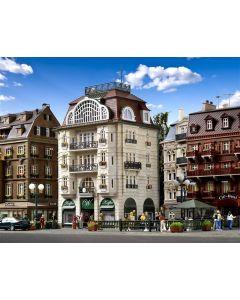 Vollmer H0 Stadhuis met Weens koffiehuis 43618