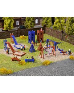 Vollmer H0 Deco-set Kinderspeeltuin 43665