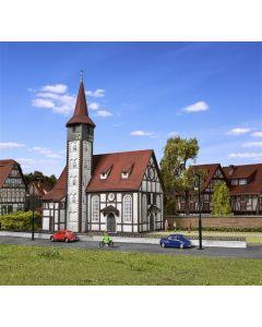 Vollmer H0 Kerk in vakwerk Altbach 43768