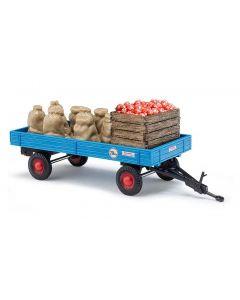 Busch Aanhanger met appels en kisten 44995