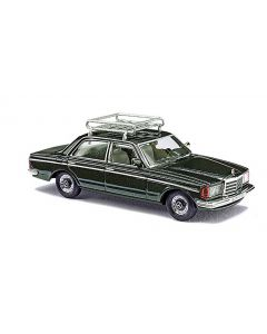 Busch Mercedes W123 Limousine met dakdrager 46864