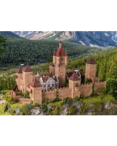 Vollmer H0 middeleeuws kasteel met verlichting 49910