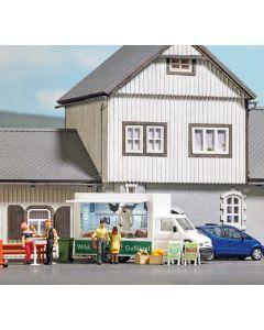 Busch H0 Verkoopwagen Wild & Gevogelte 5427