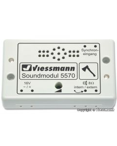 Viessmann Soundmodule houthakker 5570