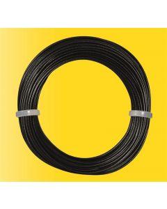 Viessmann Modelspoor stroomkabel zwart 6860