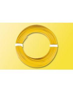 Viessmann Modelspoor stroomkabel geel 6864