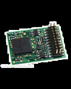 Uhlenbrock digitaal PluX22 decoder met MFX 74570
