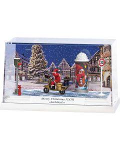 Busch H0 Kleindiorama Merry Christmas XXIII »Geflitst« 7638
