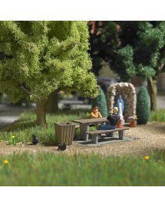 Busch H0 Mini scene picknickplaats 7729