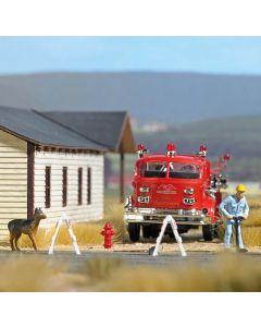 Busch H0 Amerikaanse brandkranen 7766